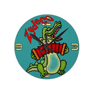 Reloj del cocodrilo de Zydeco