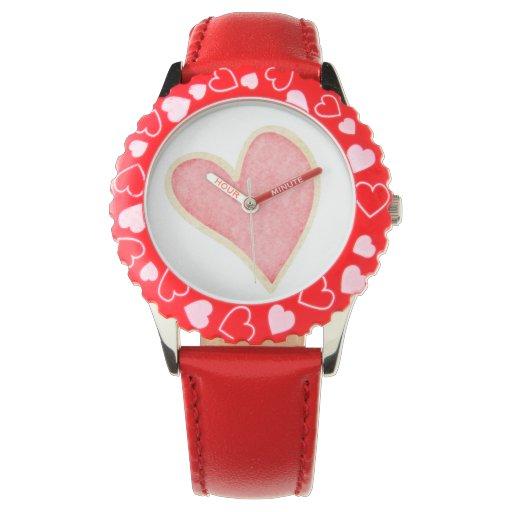 Reloj del corazón del niño