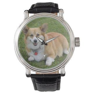 Reloj del Corgi Galés del Pembroke