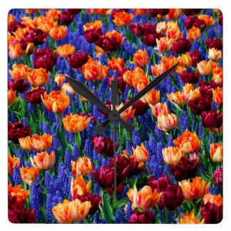 Reloj del Cotillion del jardín del tulipán del jac