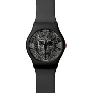 Reloj del cráneo del cordón