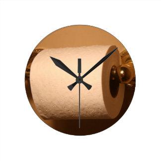Reloj del cuarto de baño