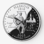 Reloj del cuarto del estado de Illinois