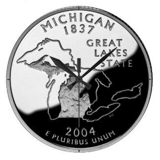 Reloj del cuarto del estado de Michigan