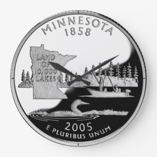 Reloj del cuarto del estado de Minnesota