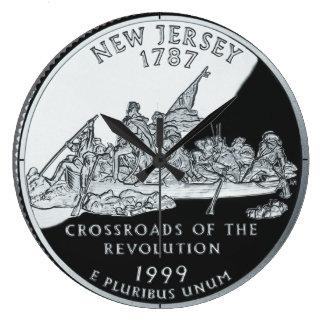 Reloj del cuarto del estado de New Jersey