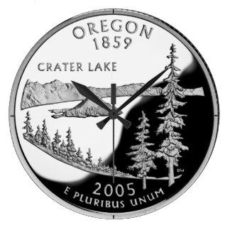 Reloj del cuarto del estado de Oregon