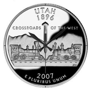 Reloj del cuarto del estado de Utah