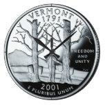 Reloj del cuarto del estado de Vermont