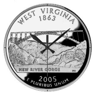 Reloj del cuarto del estado de Virginia Occidental