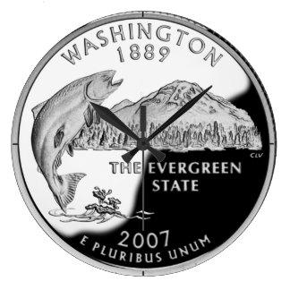 Reloj del cuarto del estado de Washington
