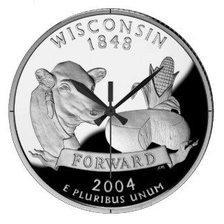 Reloj del cuarto del estado de Wisconsin