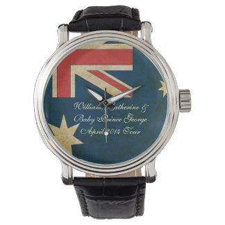 Reloj del cuero de George Australia del bebé de