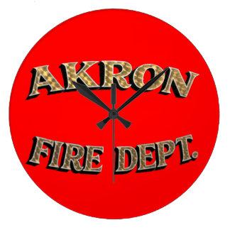 Reloj del cuerpo de bomberos de Akron Ohio