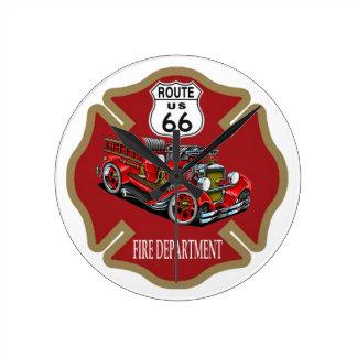 Reloj del cuerpo de bomberos de la ruta 66