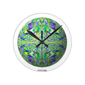 Reloj del Cyberpunk del fractal - friki psicodélic