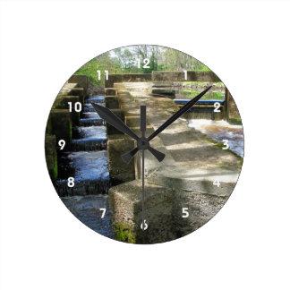 Reloj del ~ de la escalera de pescados