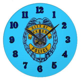 Reloj del Departamento de Policía de Akron Ohio