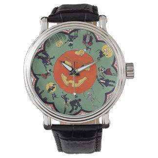 Reloj del día de fiesta de Halloween del estilo