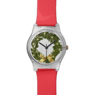 Reloj del día de fiesta del navidad