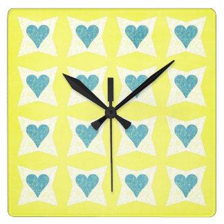 Reloj del día de San Valentín