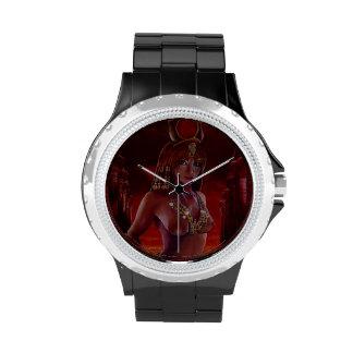 Reloj del diamante artificial de Hathor