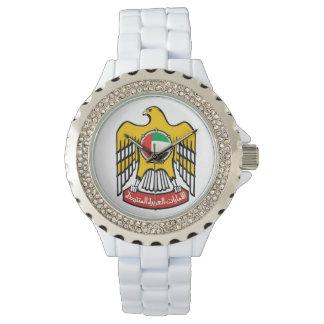 Reloj del diamante artificial de los UAE
