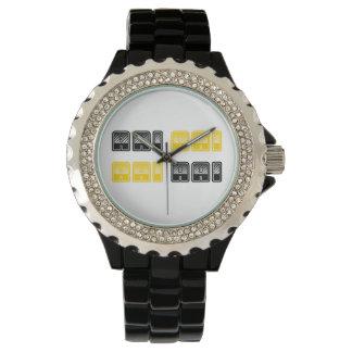 Reloj del diamante artificial del bloque de AAI