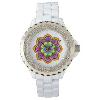 Reloj del diamante artificial del místico uno