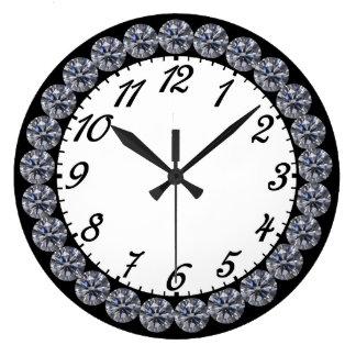 Reloj del diamante con números