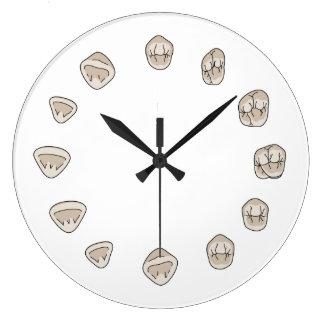 Reloj del diente (grande)