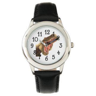 Reloj del dinosaurio de T-Rex
