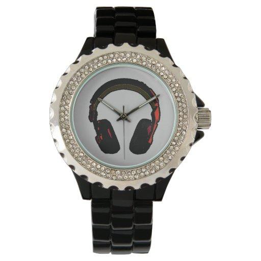 reloj del disc jockey