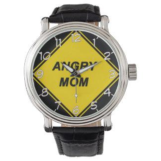 """Reloj del diseño de la """"mamá enojada"""""""