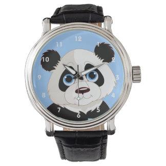 Reloj del diseño de la panda