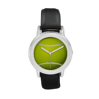 Reloj del diseño de la pelota de tenis