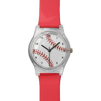 Reloj del diseño del béisbol