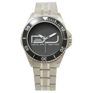 Reloj del diseño del equalizador de DJ