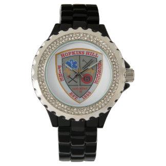 Reloj del distrito del fuego de la colina de