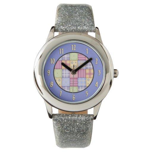 Reloj del edredón de Quilters