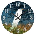 Reloj del Egret nevado