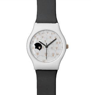 Reloj del ejemplo de las ovejas negras