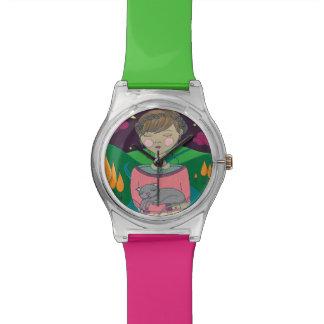 Reloj del ejemplo May28th del chica de sueño