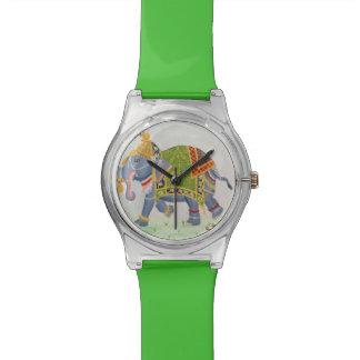 Reloj del elefante indio
