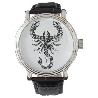 Reloj del escorpión - astrología fresca de
