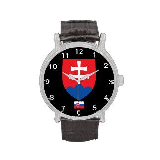 Reloj del escudo de Eslovaquia