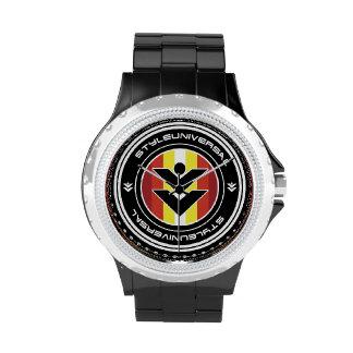 Reloj del escudo de StyleUniversal