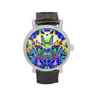 Reloj del extracto de la naturaleza