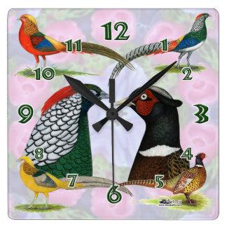 Reloj del faisán