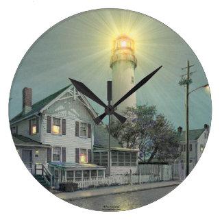 Reloj del faro de la isla de Paul McGehee